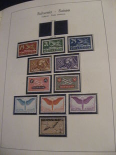 Switzerland 1923/1944 - Complete Airmail collection