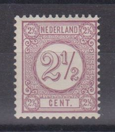The Netherlands 1889 - Number print stamp - NVPH 33Fa, with inspection