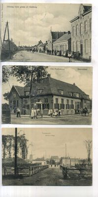 Zeeland, views of towns and villages, period: 1900-1960, 81x