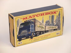 Lesney Matchbox - Scale 1/76 - Major Pack M-9 Inter State Double Freighter