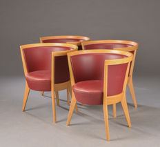 Jacob Berg for Scou Andersen - set of 4 chairs, model 'Circle'