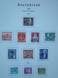 Federal Republic of Germany - Berlin - GDR of East Germany - Reich Staaten 1870/2000 in 10 Albums/sheets