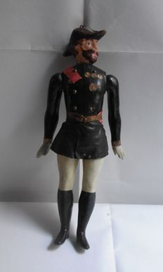 Papier-mâché soldier, early 20th century, France