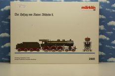 Märklin H0 - 2881 - Steam locomotive with tender of the royal train of Wilhelm II S10 of the KPEV 8 9286