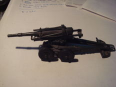 DINKY TOYS FRANCE MILITARY, gun howitzer 155 length barrel10 cm total length 15 cm very good condition