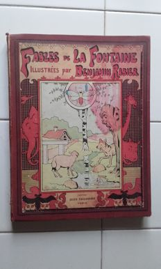 La Fontaine - Fables de la Fontaine. Illustrated by Benjamin Rabier - 1906