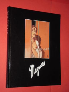 Magnus - hardcover volume - illustrated essay in Italian, English and French (1997)