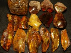 Natural Baltic Amber - 200 gm