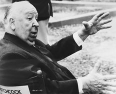 Unknown - Alfred Hitchcock, 1974 for his 75th birthday/1976 family plot