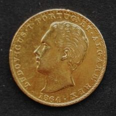 Portugal Monarchy - D. Luís I ( 1861-1889 ) - 2.000 Reis - 1864 - Gold
