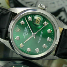 Rolex Oyster Perpetual Date Automatic Steel Mens Watch Ref 1500