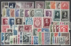 Belgium - Full years 1952 and 1953 - OBP nos. 876 through. 937 and BL 30