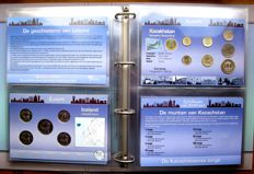 """Europe - Coin sets """"Coins of the World"""" (16 different sets), in album"""