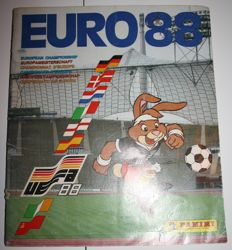 Panini - Euro 88 West Germany - Dutch version - Complete album - Including the correct sticker of Sjaak Troost