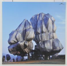 5 x Christo and Jeanne-Claude - Wrapped Trees