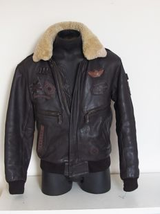 Nickelson - Quality Edition - Leather aviator jacket