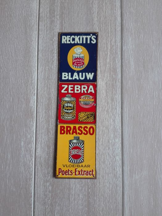 Reckitt Doorpost sign