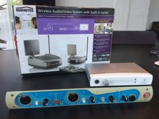 SALE Digidesign Digi 001, Behringer FCA 202 and Marmitek Wireless Audio/Video system