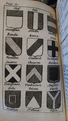 A. Playne - L'art Heraldique - 1717