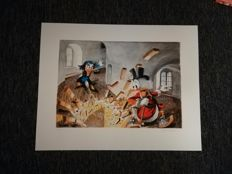Nielsen, Peter - Hand-signed lithograph - Round Tower Chase