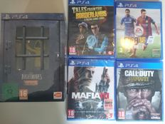 Lot of 5 PlayStation 4 games incl Call of Duty: WWII, Mafia III, Little Nightmares Six Edition and FIFA