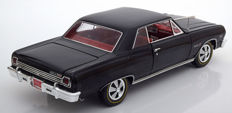Ertl-Auto World - Scale 1/18 - Chevy Chevelle Z-16 - 1965 - 369 engine 50th Anniversary 1965-2015 - Black