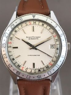 Girard-Perregaux - Gyrodate- Day Date - Chronometer - 9080 - Hombre - 1960 - 1969