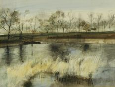 Jan A. Goedhart - Landschap