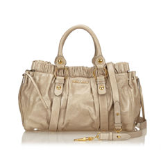 Miu Miu - Gathered Leather Bag