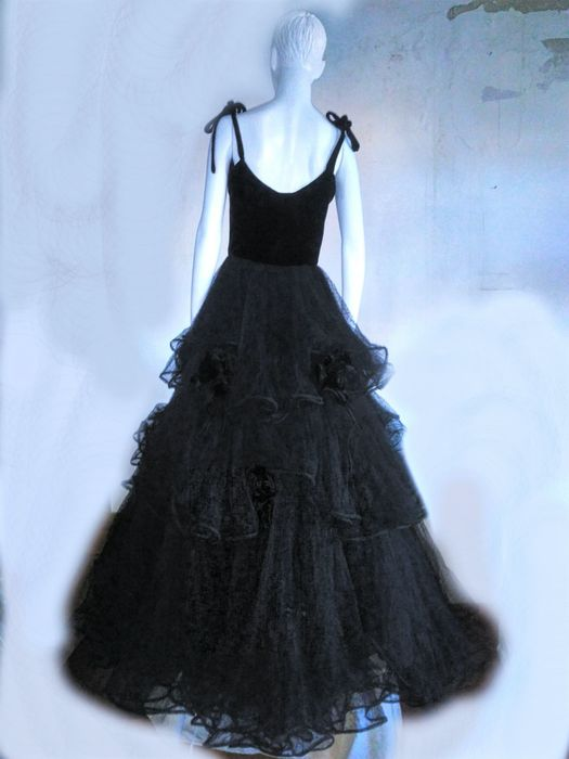 Valentino - Evening gown dress, made for and worn by Claudia ...