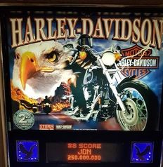 Pinball Harley Davison 2th edition