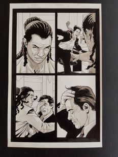 Tony Harris  - Original Art Page - Ex Machina #24 - Page 17 - (2007)