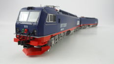 Roco H0 - 63753 - Electric locomotive - Dubbele 12 assige locomotief type IORE - LKAB