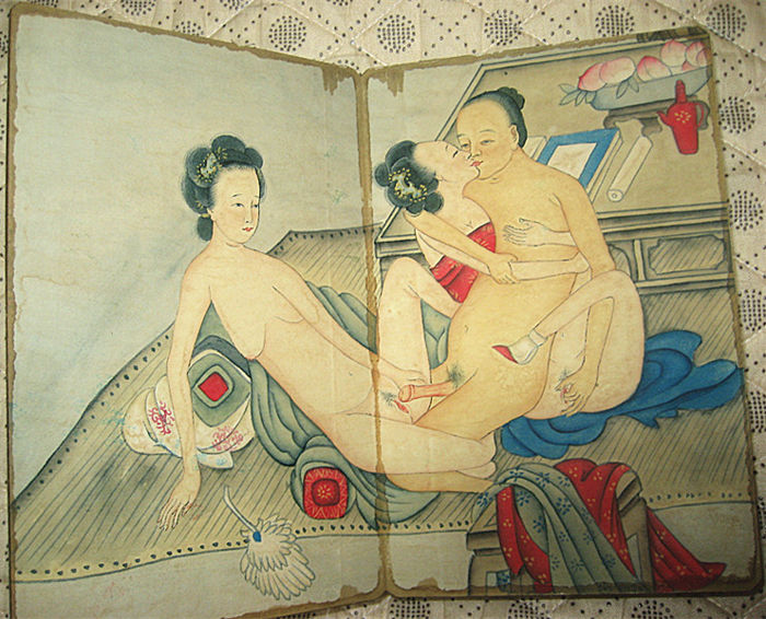 Seems remarkable Chinese erotic art