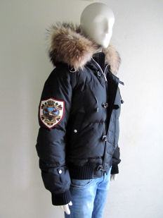 Dsquared2 - Artic Goose Down Bomber - Racoon - As new