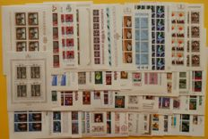 Liechtenstein 1978/1983 - Collection of 47 complete sets of sheets