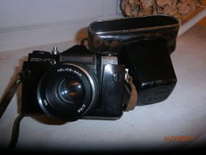 camera ZENIT EM from 1972 to 1984