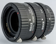 Extension Tube set for Canon EF SLR/DSLR Camera