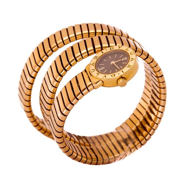 Bulgari - Serpenti Yellow Gold Snake - BB19 - Dames - 2000-2010