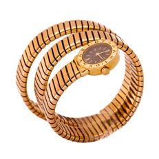 Bulgari - Serpenti Yellow Gold Snake - BB19 - Donna - 2000-2010