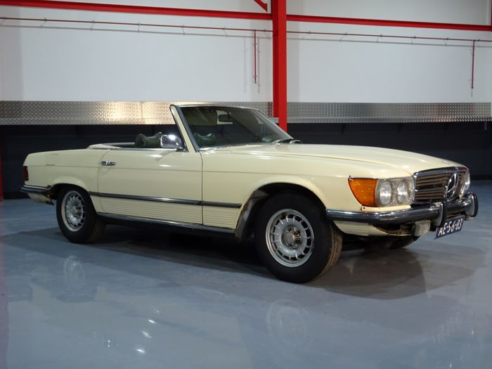 Mercedes-Benz - 350 SL Roadster (Cabrio) - 1972