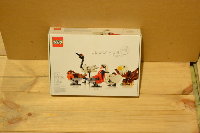 LEGO 4002014 LEGO HUB Birds Exclusive Employee Gift
