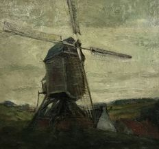 Unknown (20th century) - Dutch mill