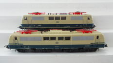 Lima H0 - 208040/208055 - Two Electric locomotives Series BR 111 and BR 151 of the DB