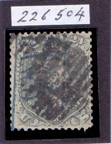Usa 1862/66 - Stanley Gibbons 74a, 24C Grey Lilac