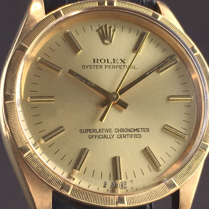 Rolex - Oyster Perpetual Yellow gold 18k Swiss 1968's - Ref.1007 - Men - 1960-1969