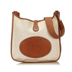 Hermes - Canvas Evelyne GM Shoulder bag