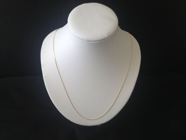 Necklace in 18 kt gold - 45 cm