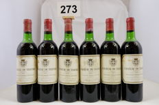 1976 Chateau du Tertre, Margaux, Cinquieme Grand Cru Classe, France - 6 Bottles