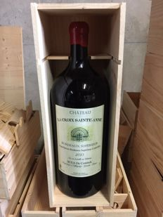 2013 Chateau La Croix Sainte Anne - 1 x Mathusalem 6l in OWC